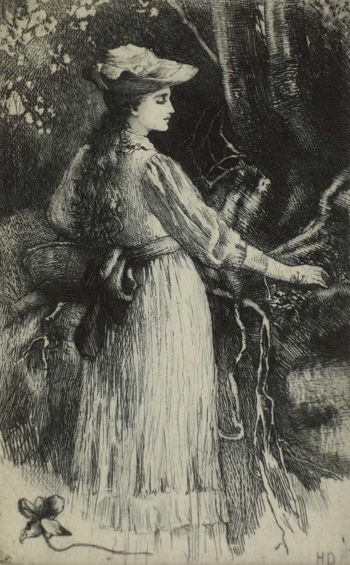 Herbert Thomas Dicksee RE (1862-1942) - Image 7 of 9