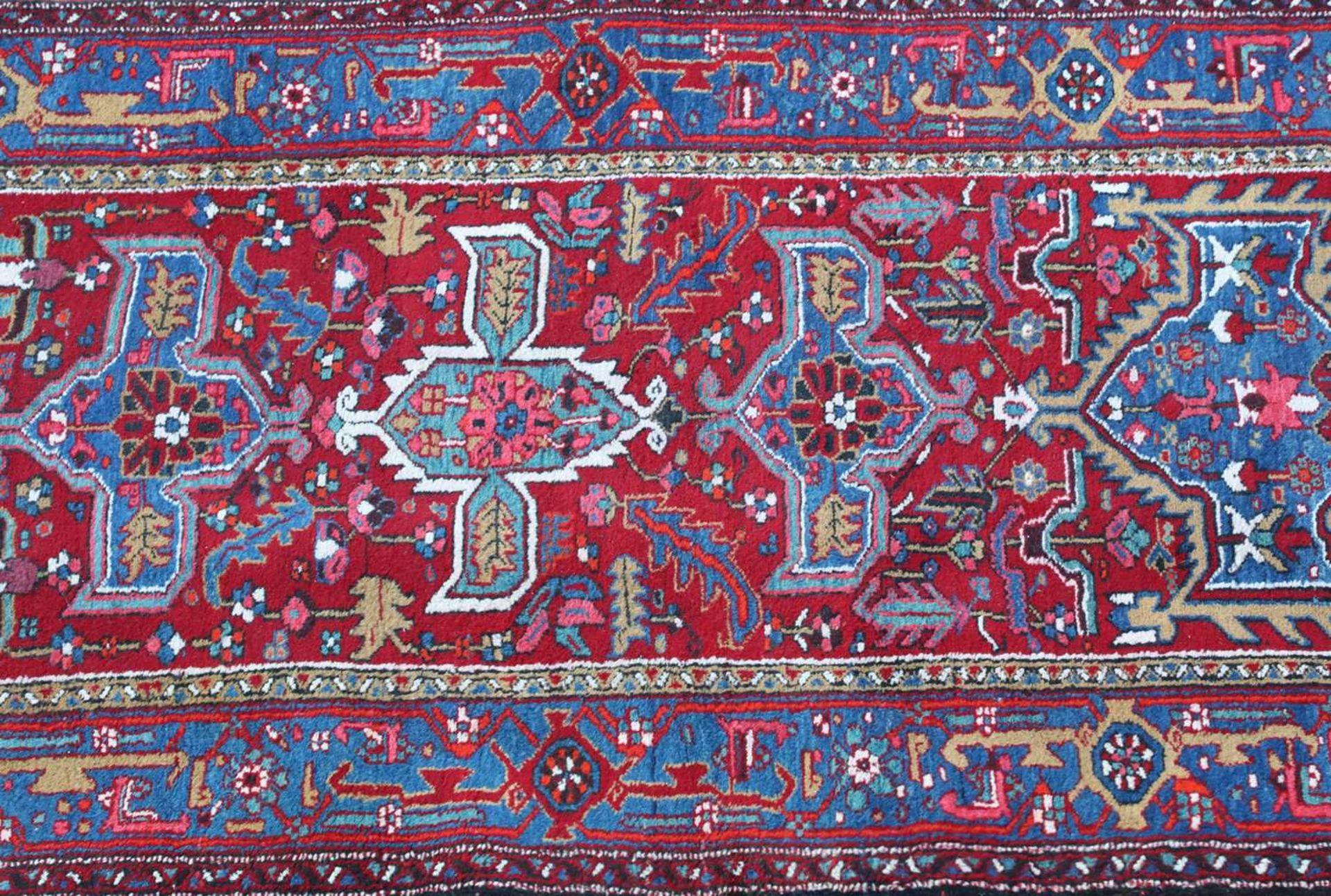 A Persian Heriz runner, - Image 2 of 3