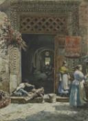 Ettore Roesler Franz (Italian, 1845-1907)