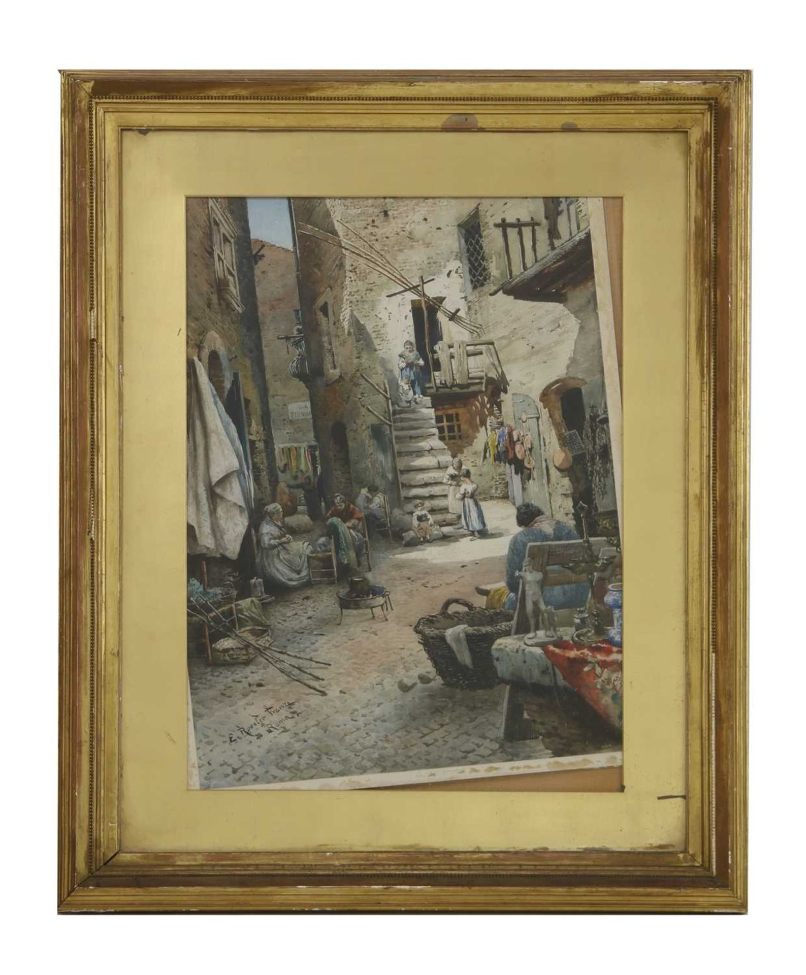 Ettore Roesler Franz (Italian, 1845-1907) - Image 4 of 10