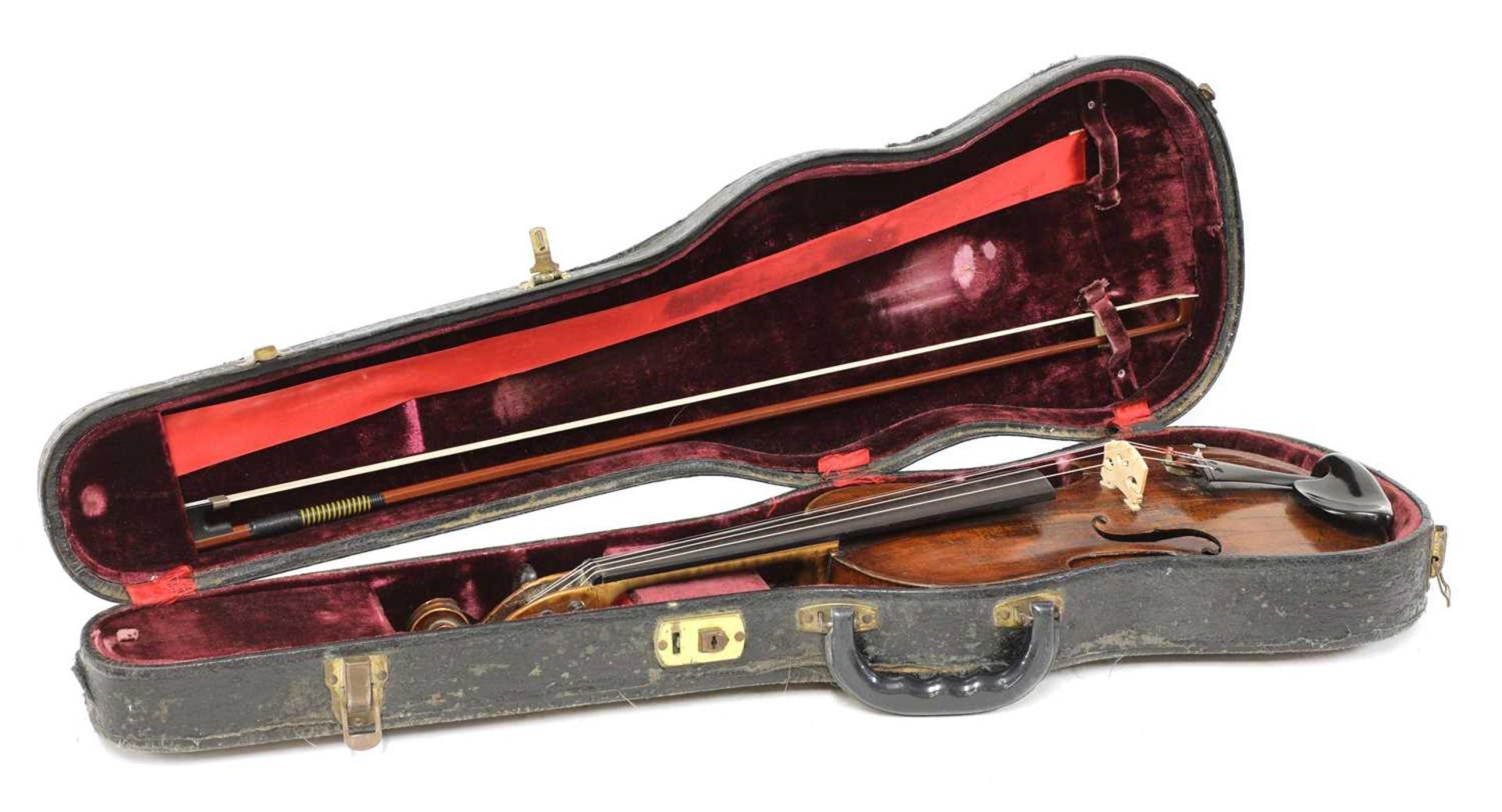 A violin, - Image 5 of 6
