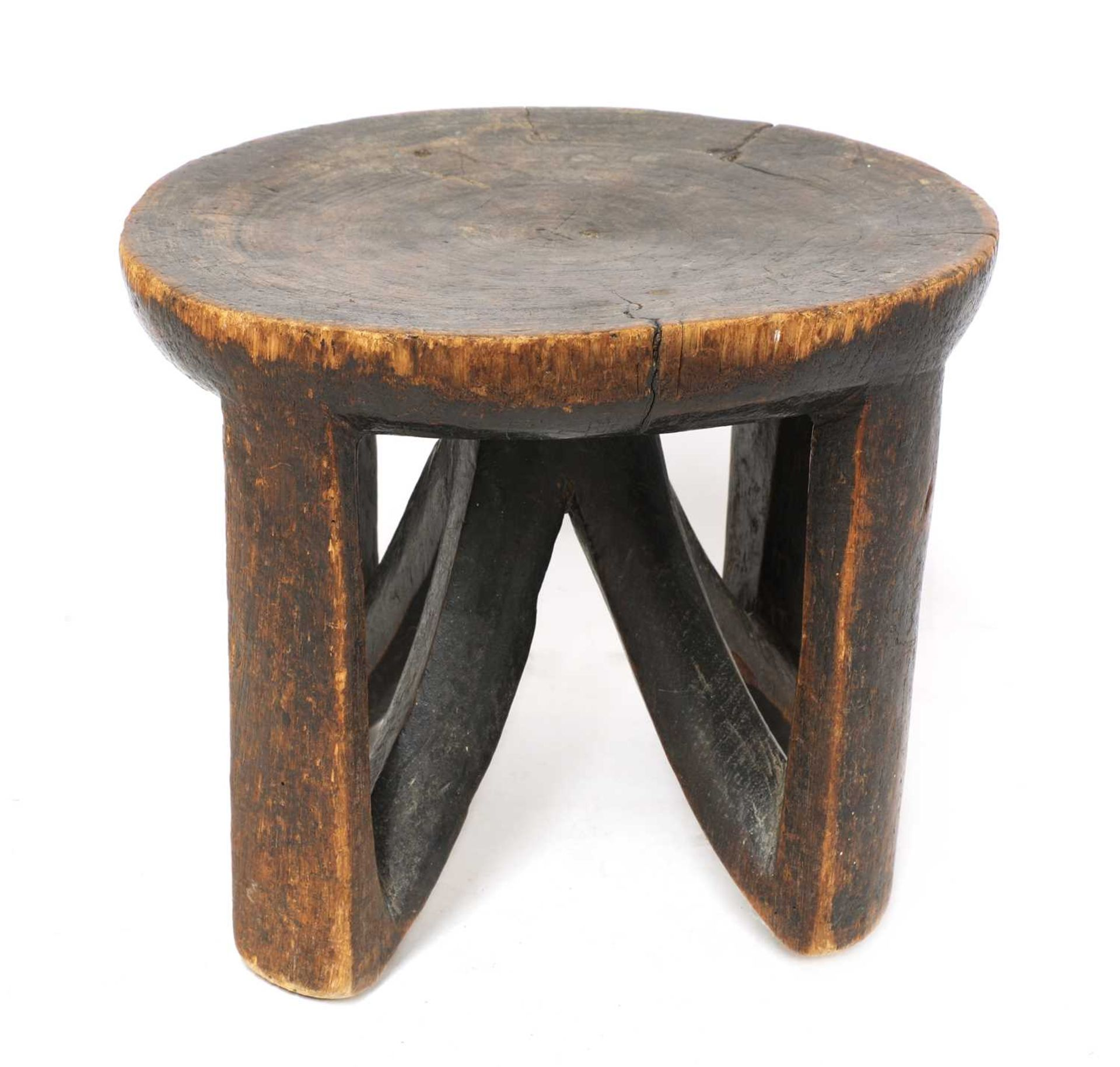 An East African tribal stool,