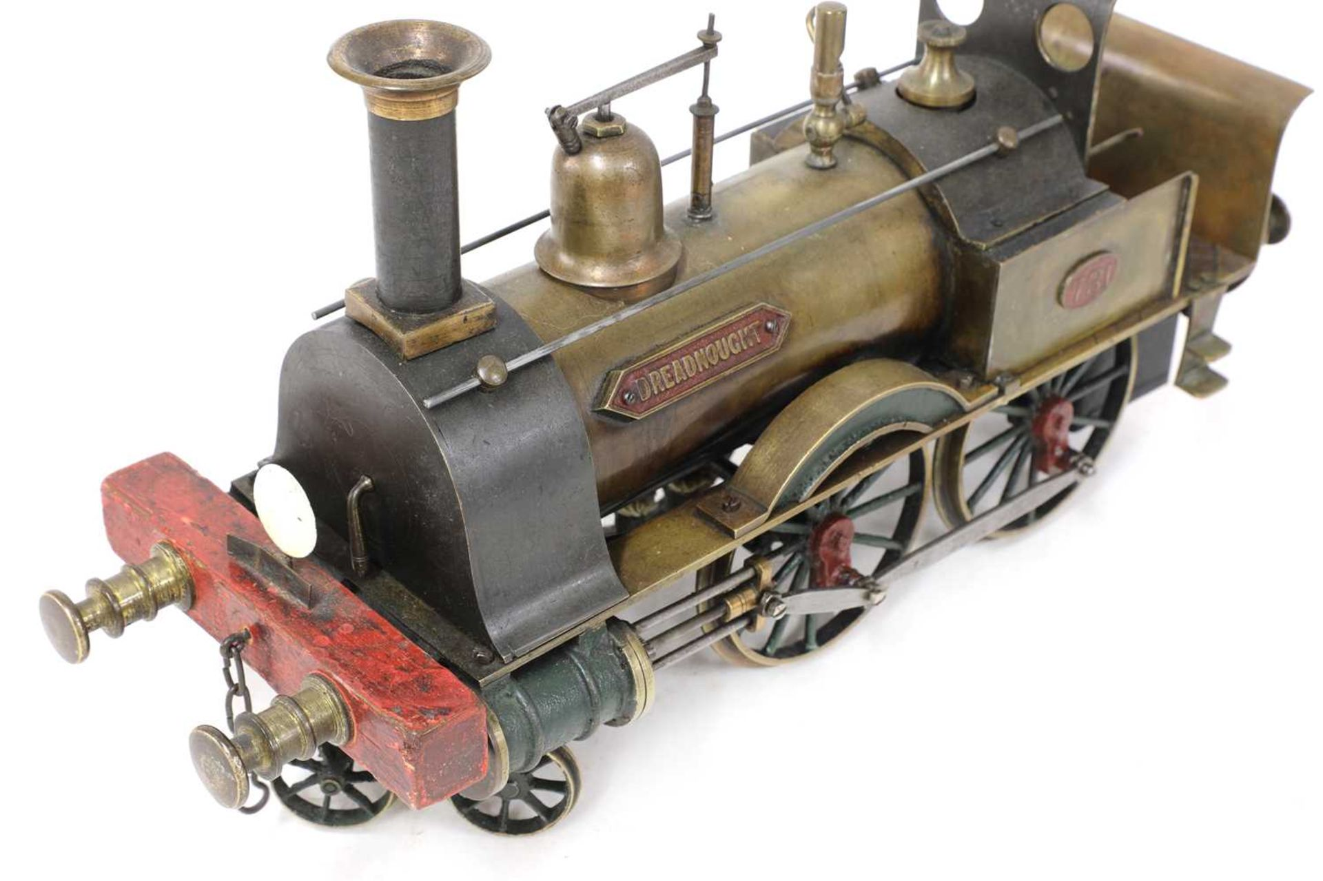A 3in gauge spirit-fired live steam 4-4-0 Stevens Model Dockyard locomotive no 731, 'Dreadnought', - Image 3 of 8