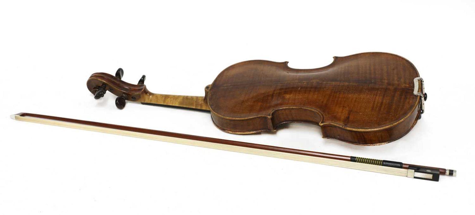 A violin, - Image 6 of 6