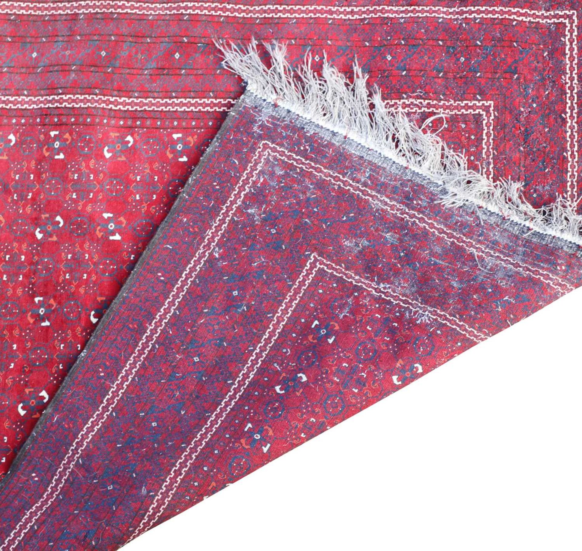An Afghan Beshir rug, - Image 3 of 17