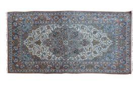 A Persian Kashan rug,