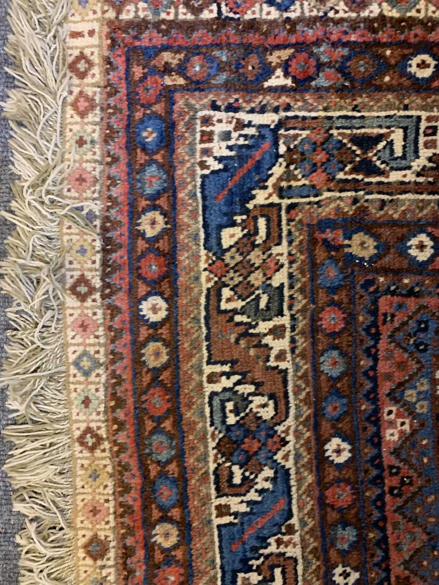 A South West Persian Khamseh carpet, - Image 9 of 17