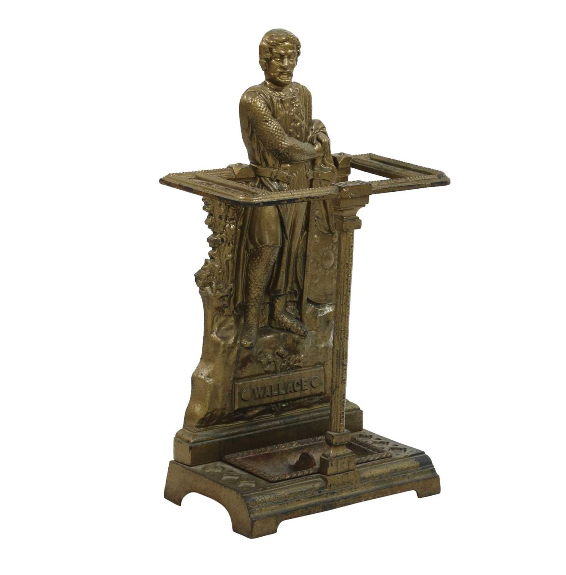 A Scottish cast iron stick stand, - Image 2 of 3