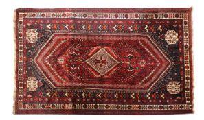 A Qashqai wool carpet,