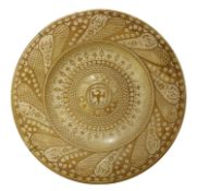 A Cantagali lustre charger,