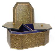 An exceptionally large Kashmir lacquered caddy,