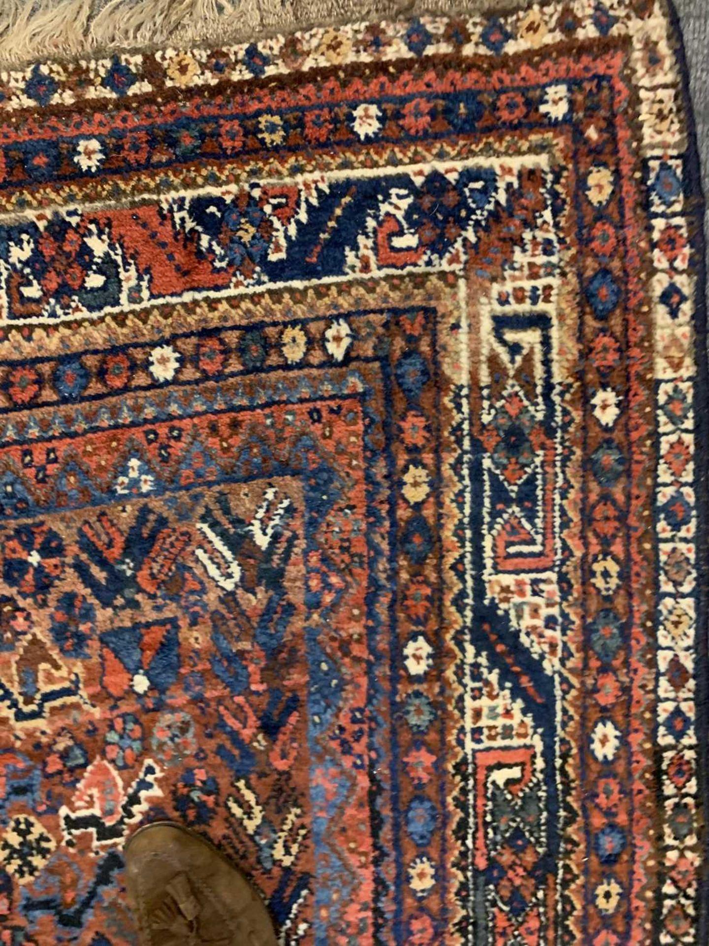 A South West Persian Khamseh carpet, - Image 12 of 17