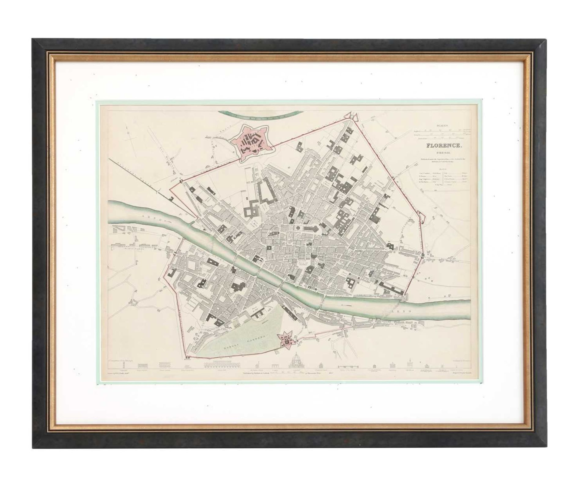 Four maps of Italian cities - Image 5 of 12