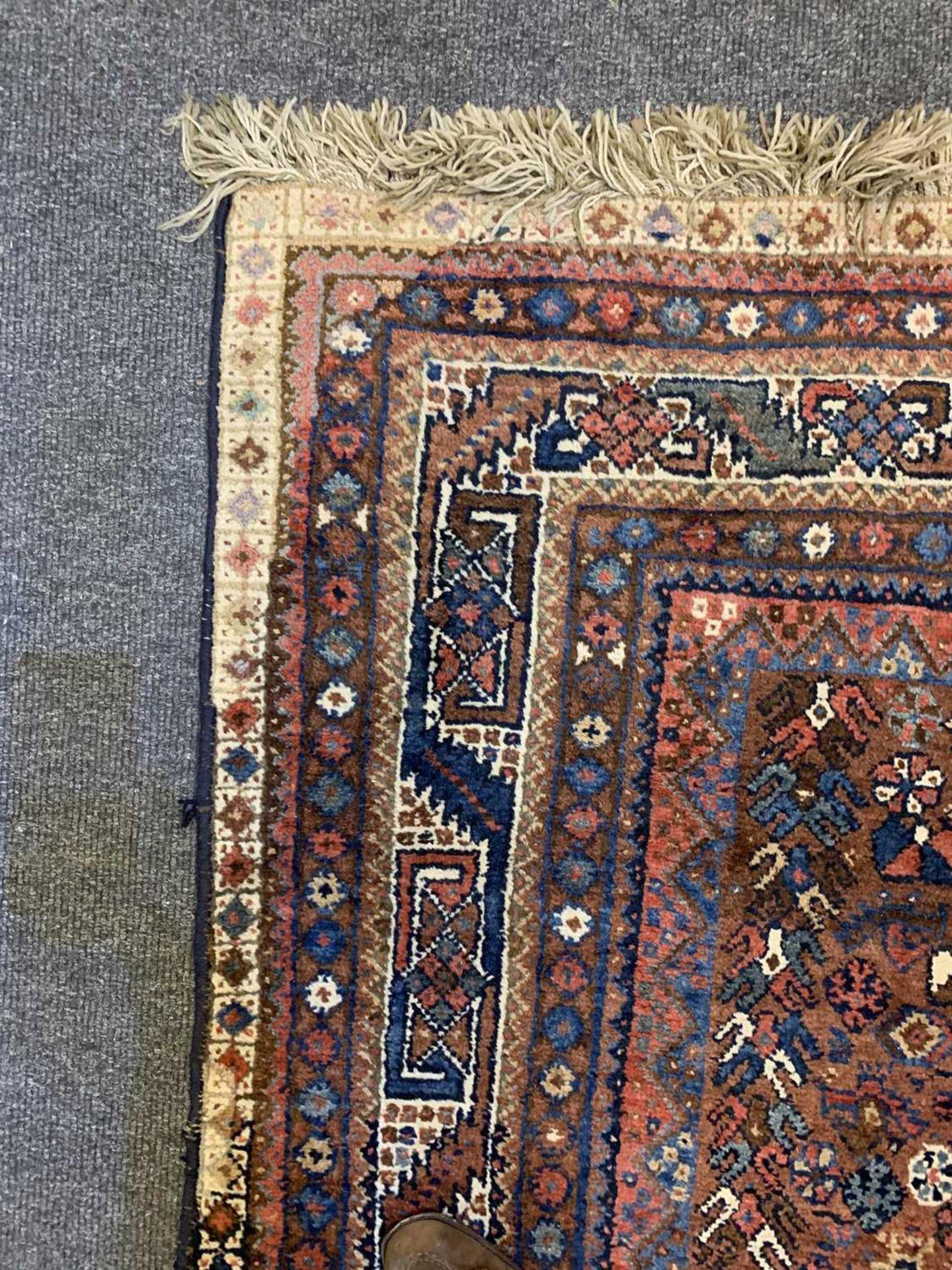 A South West Persian Khamseh carpet, - Image 15 of 17