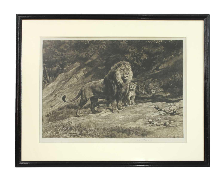 Herbert Thomas Dicksee RE (1862-1942) - Image 2 of 4