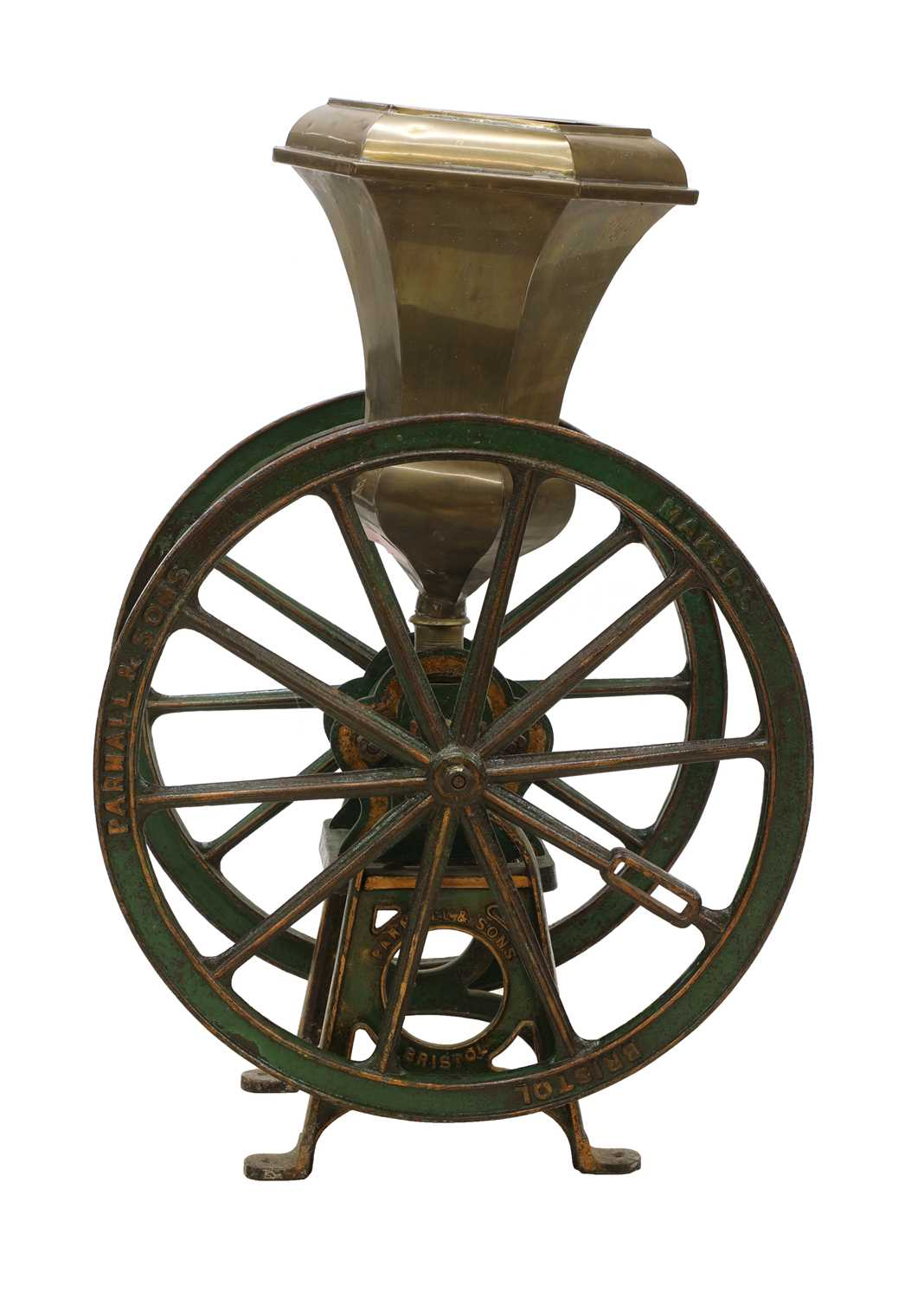 A large coffee grinder by Parnell & Sons, - Image 3 of 8