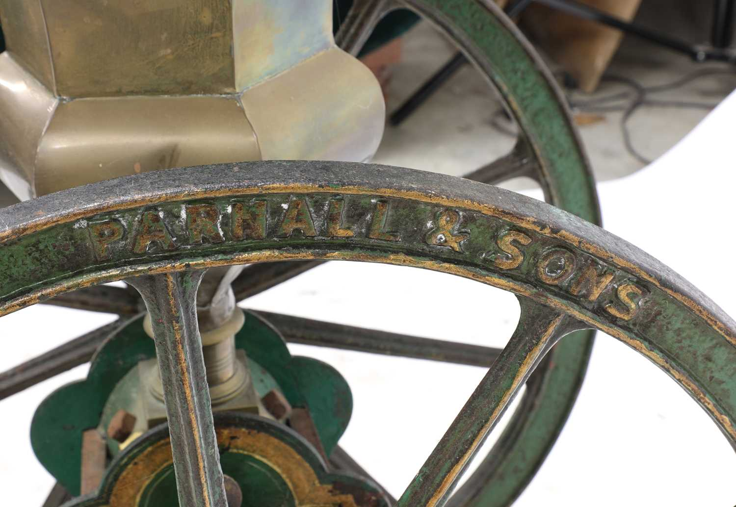 A large coffee grinder by Parnell & Sons, - Image 5 of 8