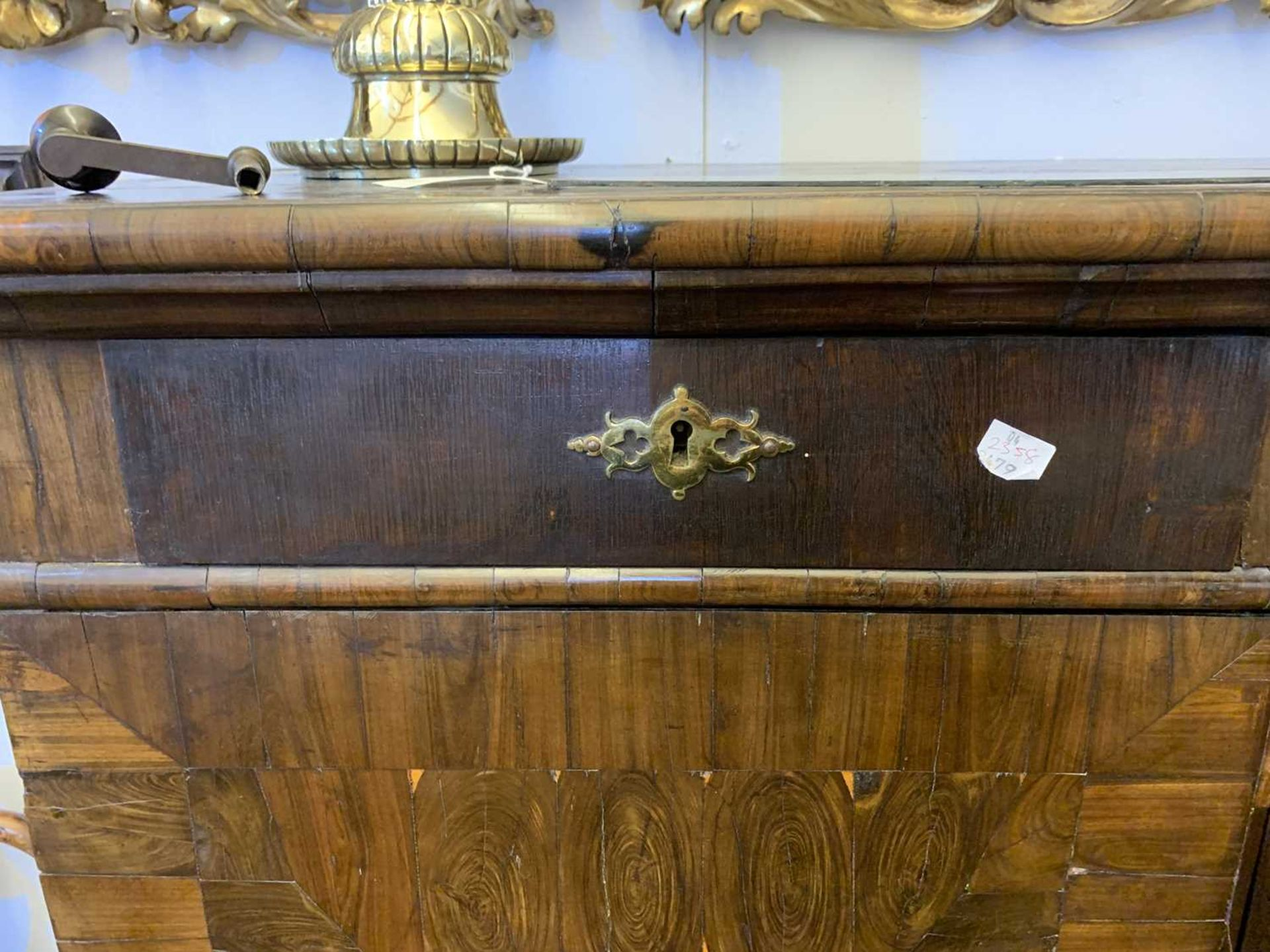 A Queen Anne cocus wood cabinet, - Image 9 of 42