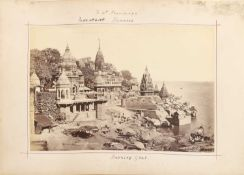 An album of photographs of India,