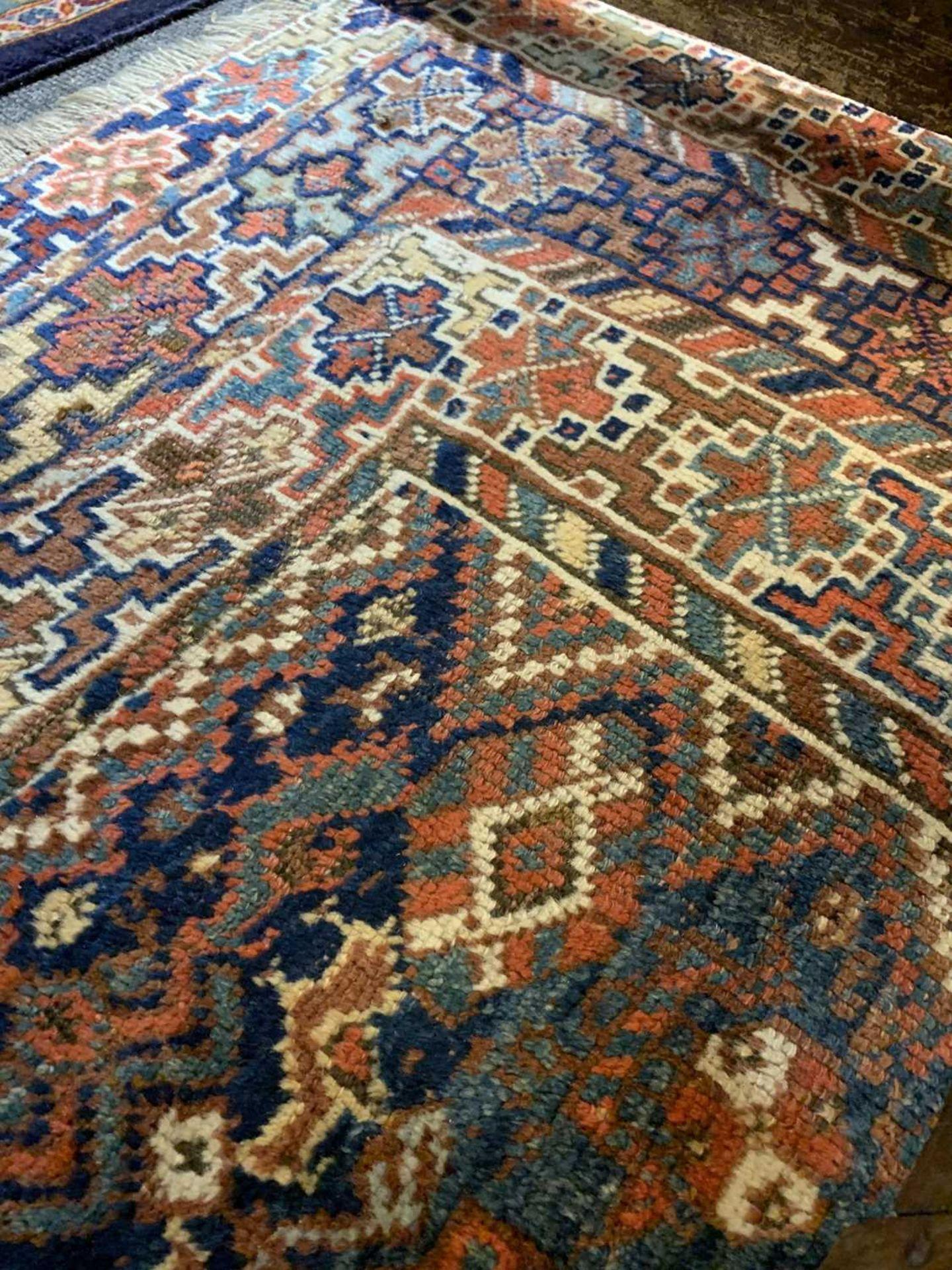 A Persian Khamseh carpet, - Image 8 of 15