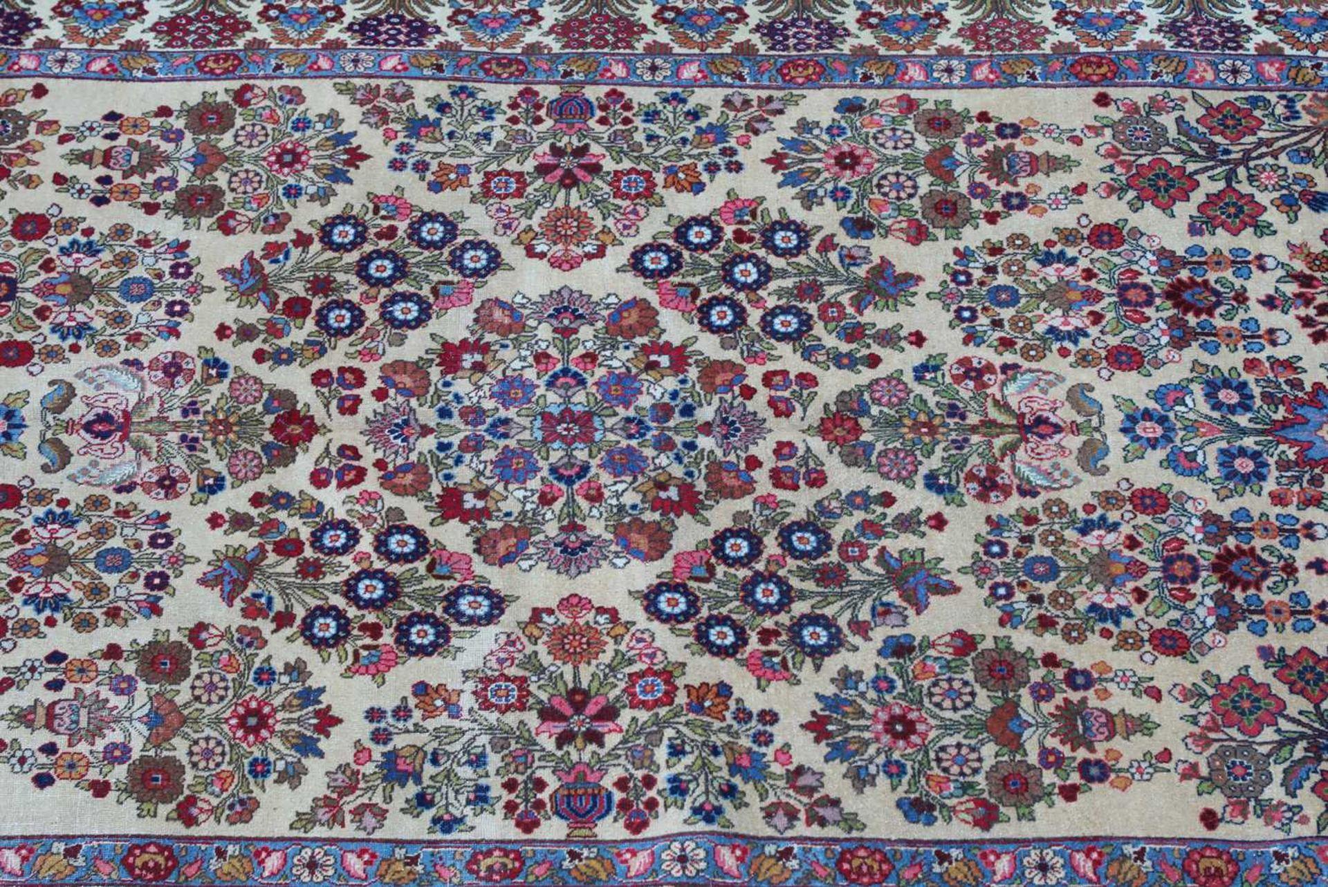 A Persian Tabriz carpet, - Image 2 of 3