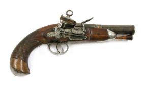 A Spanish miquelet lock belt pistol,