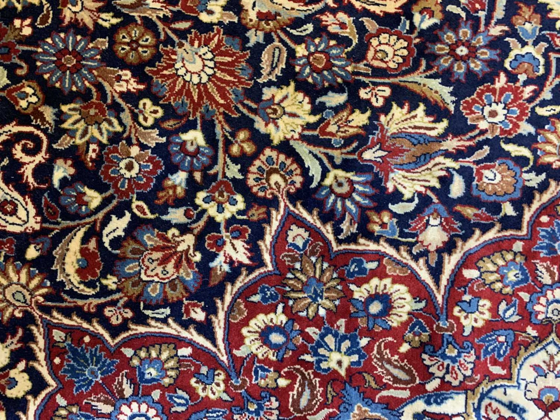 A large Persian Khorassan carpet, - Image 5 of 17