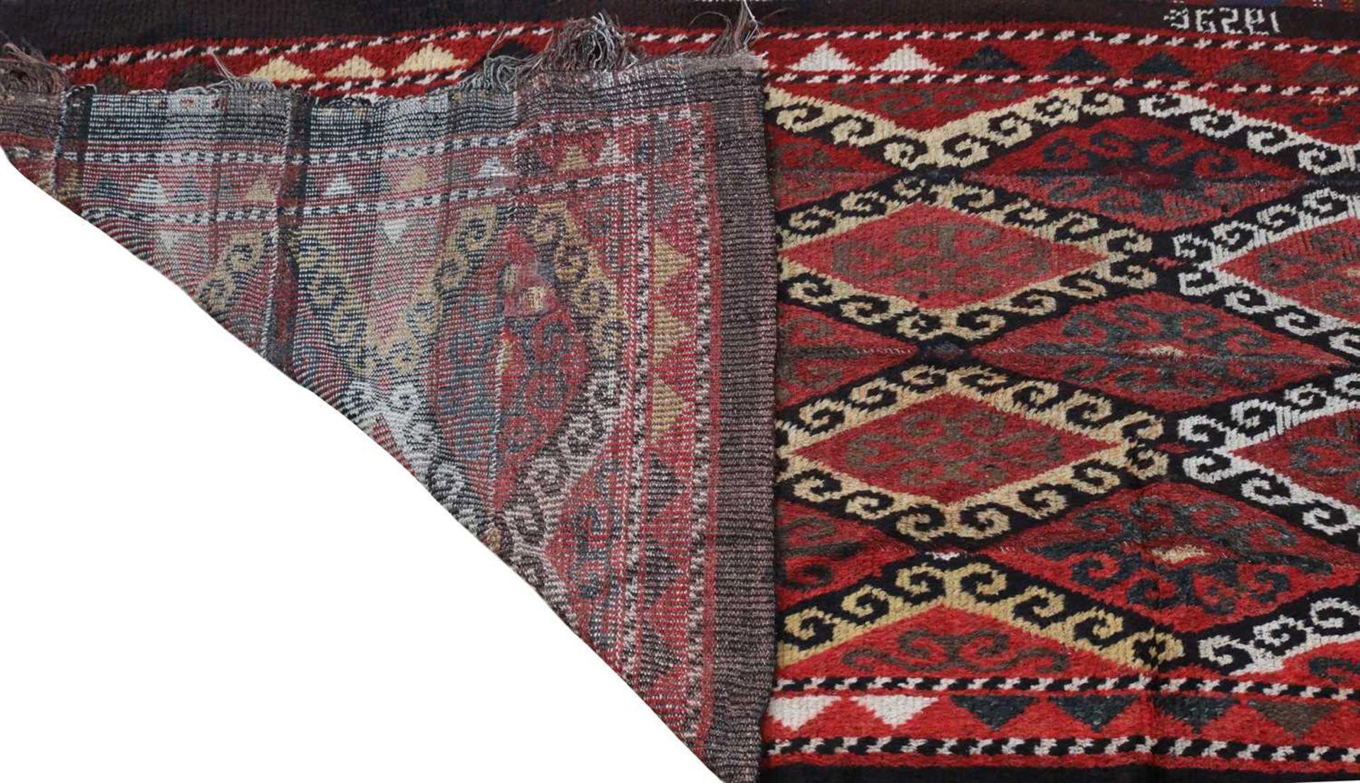 A yak wool rug, - Image 2 of 3