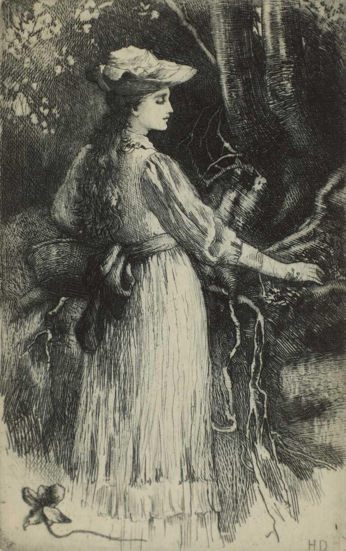Herbert Thomas Dicksee RE (1862-1942) - Image 8 of 9