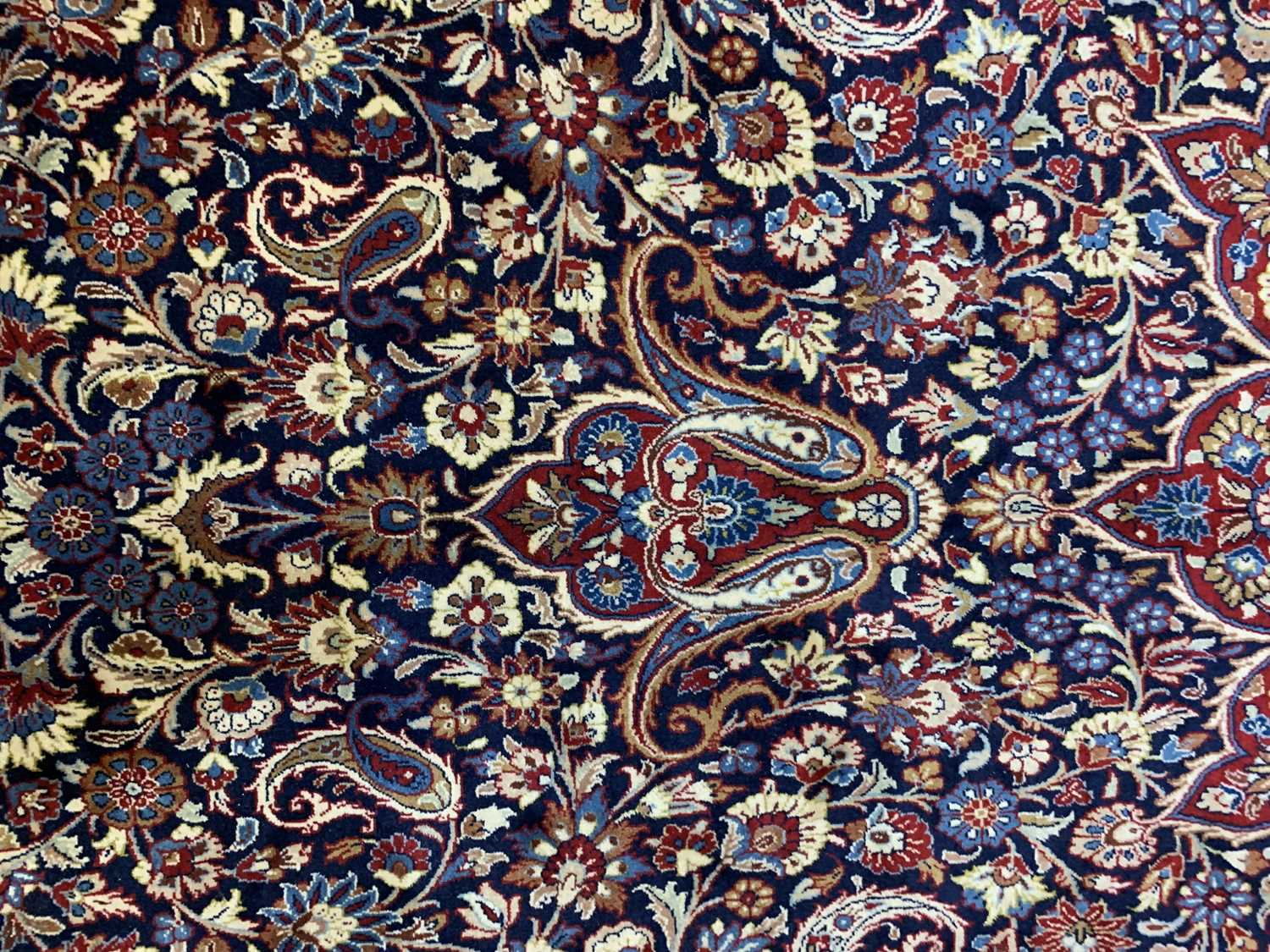 A large Persian Khorassan carpet, - Image 12 of 17
