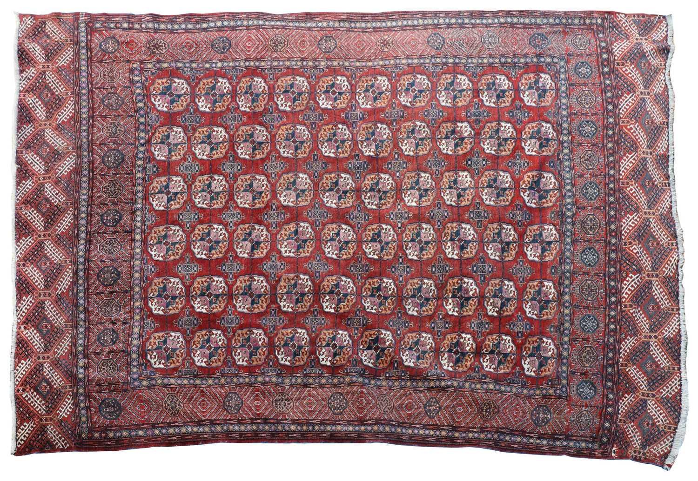 A Bokhara rug,