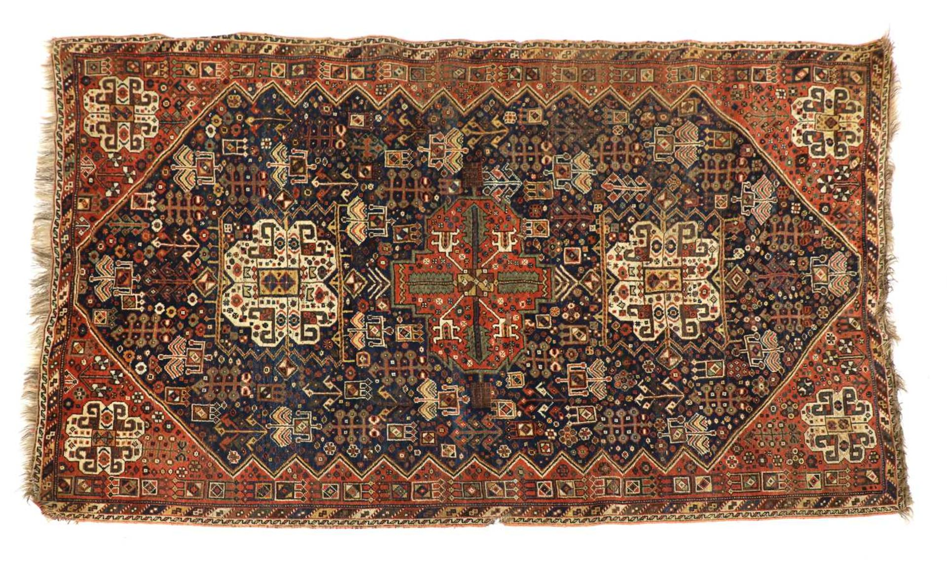A Persian carpet,
