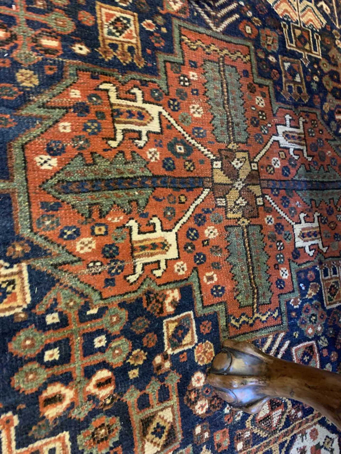 A Persian carpet, - Image 11 of 14