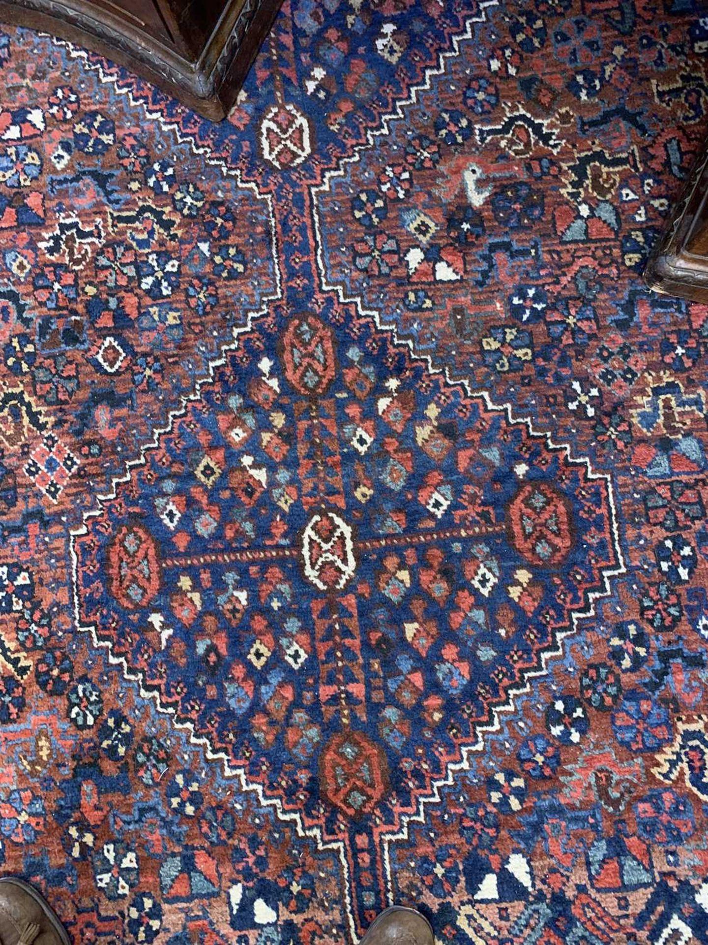 A South West Persian Khamseh carpet, - Image 16 of 17