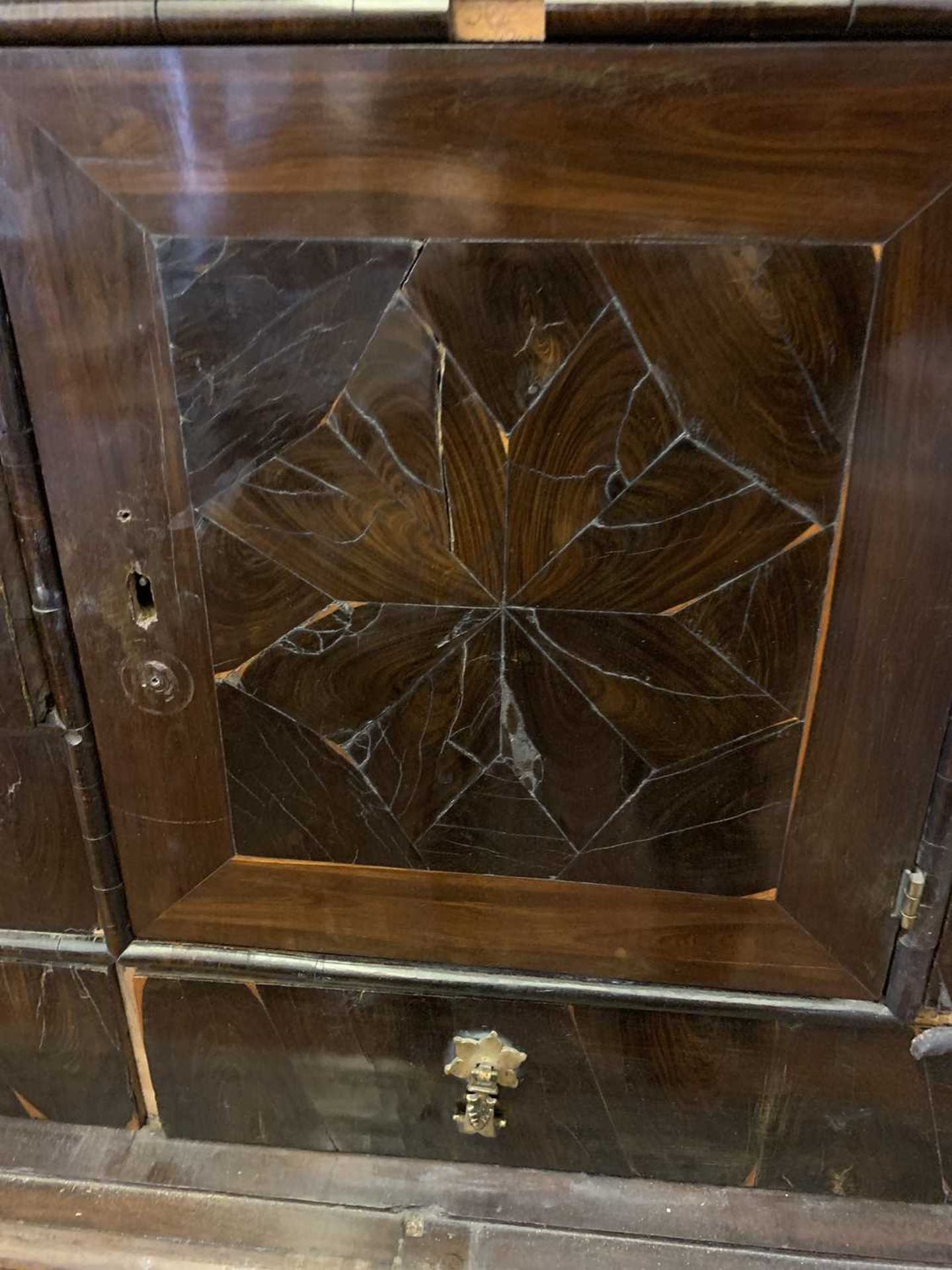 A Queen Anne cocus wood cabinet, - Image 19 of 42