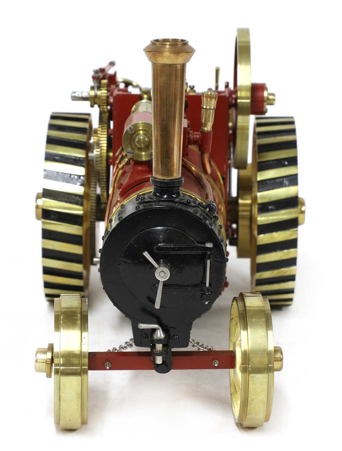 A ¾in scale model Burrell-type live steam traction engine, - Image 3 of 7