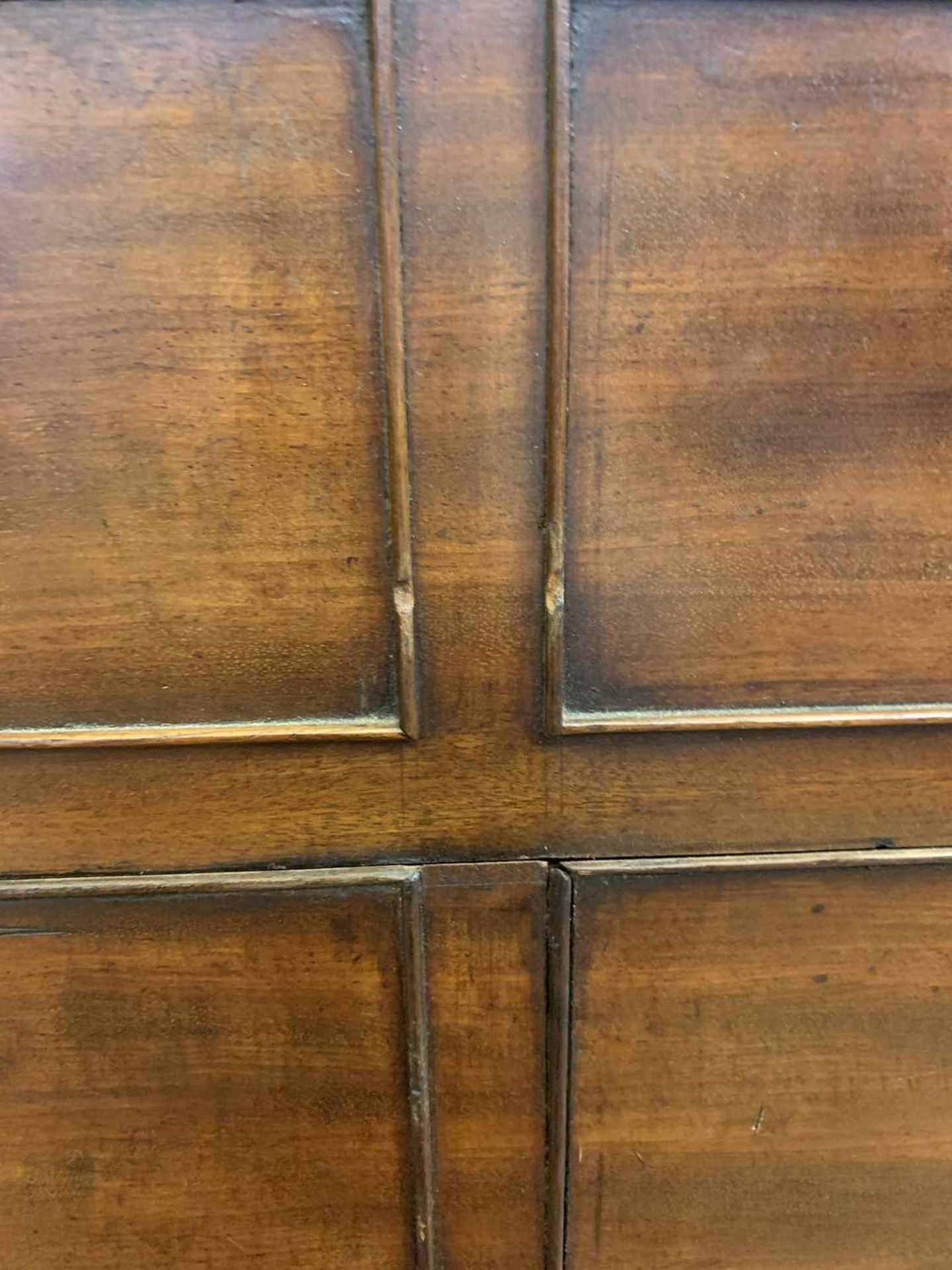 A George III mahogany architect's desk/secretaire, - Image 21 of 30