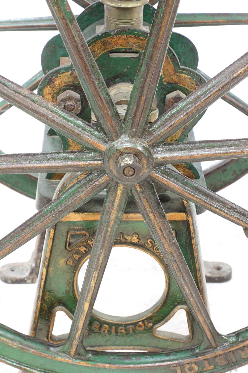 A large coffee grinder by Parnell & Sons, - Image 8 of 8