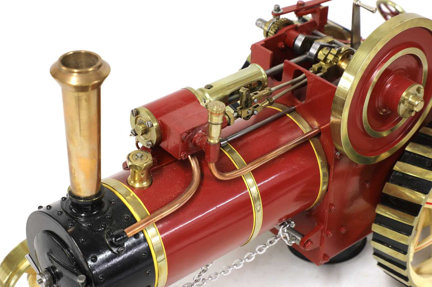 A ¾in scale model Burrell-type live steam traction engine, - Image 5 of 7