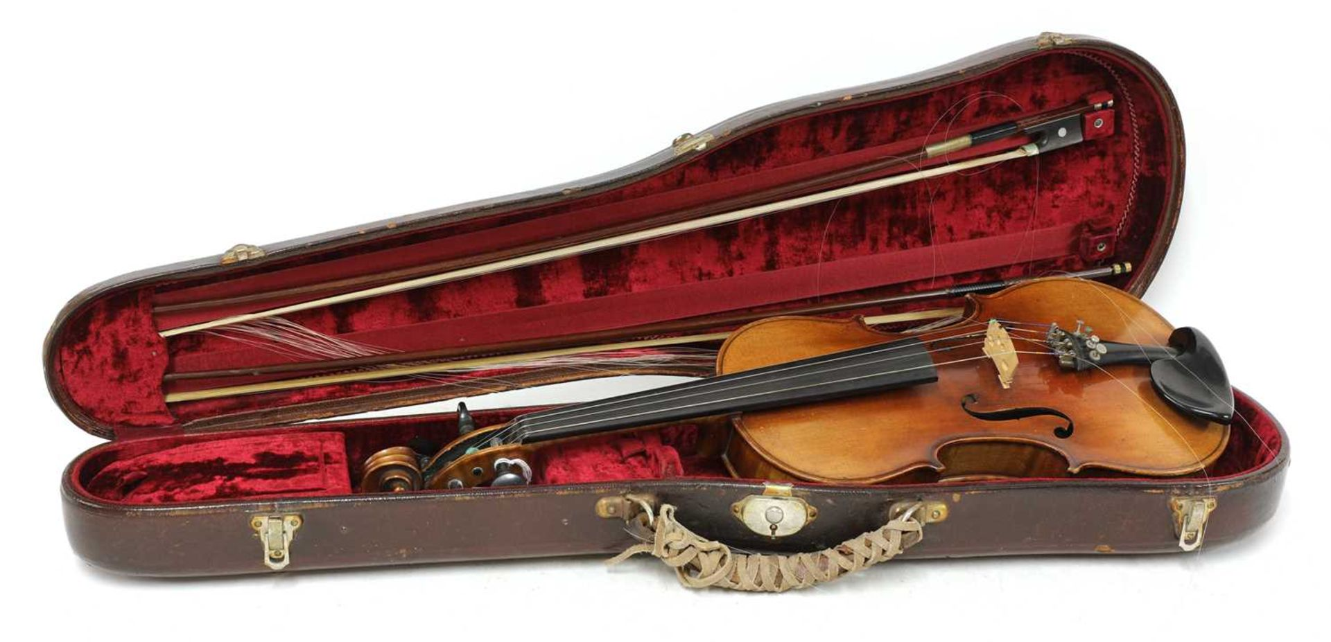 A Continental violin, - Image 5 of 7