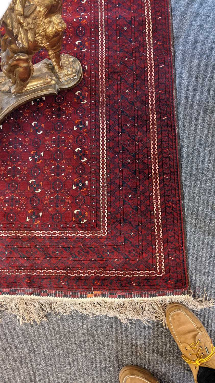 An Afghan Beshir rug, - Image 11 of 17