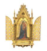 An Italian shrine icon,