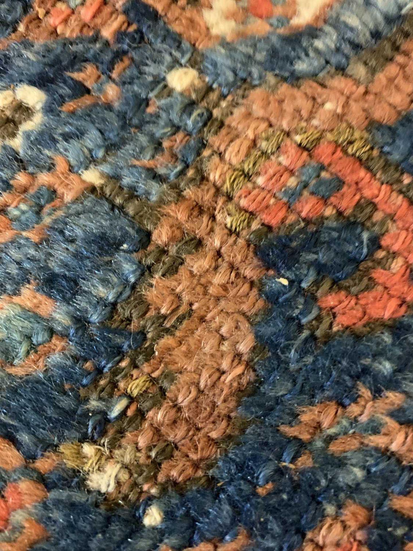 A Persian Khamseh carpet, - Image 12 of 15