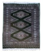 A Persian rug,