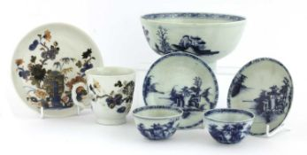 A collection of Nanking Cargo Chinese export porcelain,