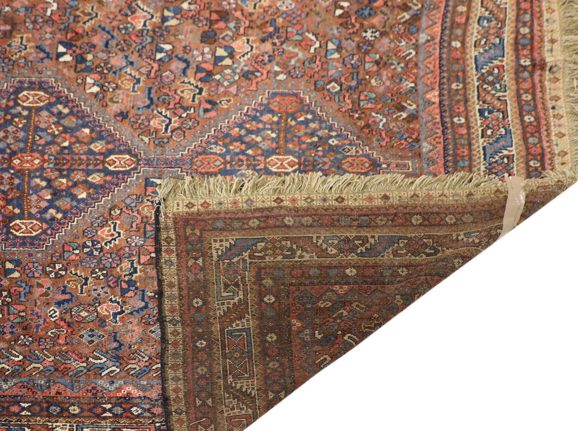 A South West Persian Khamseh carpet, - Image 2 of 17