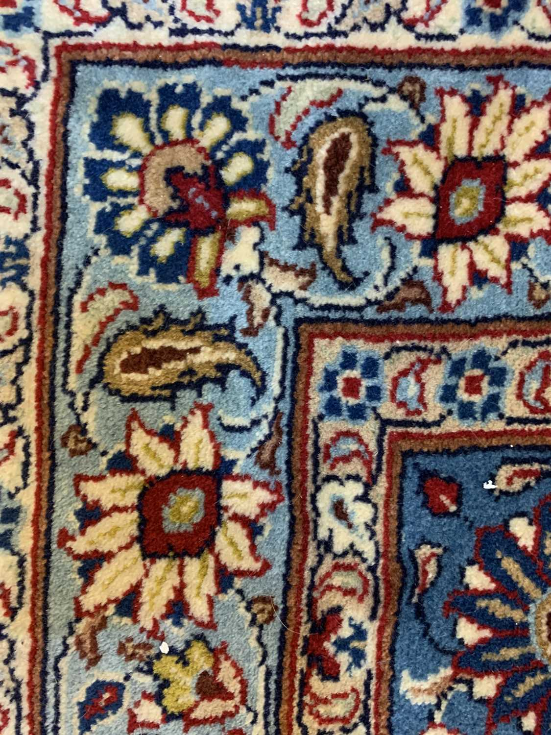 A large Persian Khorassan carpet, - Image 7 of 17