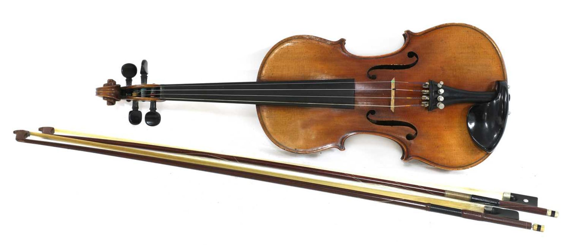 A Continental violin, - Image 2 of 7
