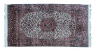 A Persian Tabriz rug,