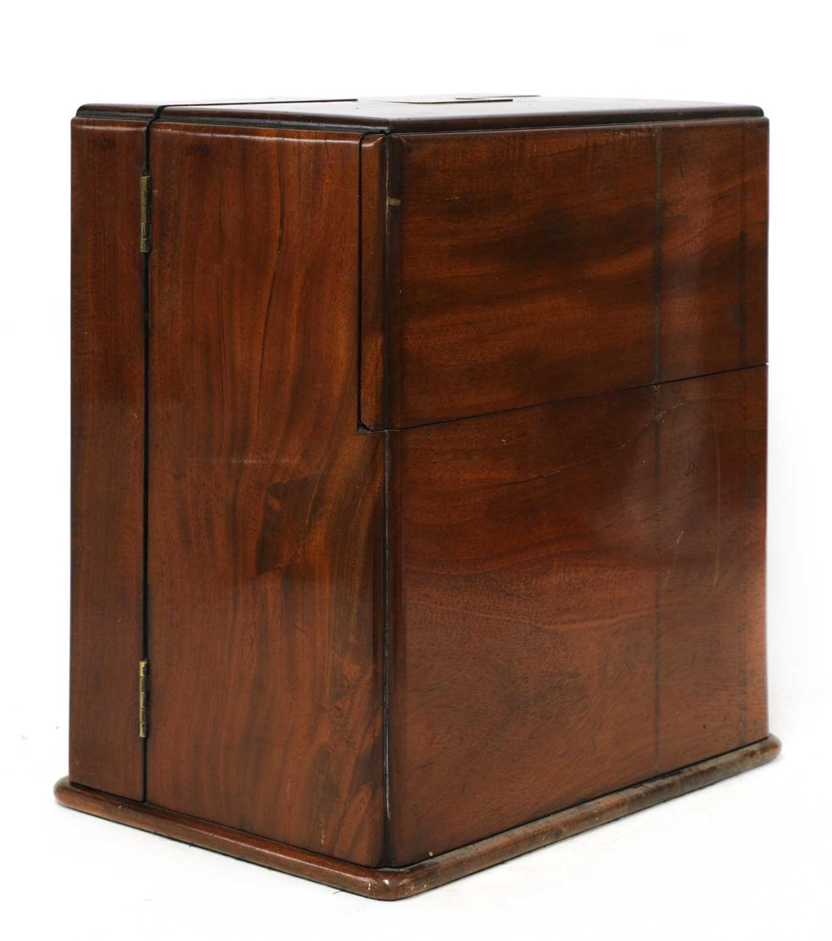 A mahogany cased travelling apothecary cabinet, - Image 4 of 5
